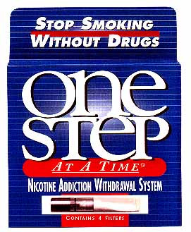 One Step at a Time cigarette filters